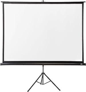 サンワダイレクト プロジェクタースクリーン 100インチ 自立式 三脚式 100-PRS005