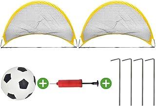 Ocamo Portería de fútbol portátil y plegable para