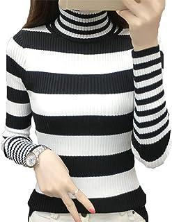 [美しいです]レディース トップス セーター 長袖 レジャー アウター カジュアル 韓国風 レディース ファッション ニット セーター 秋服 通勤 通学 おしゃれ ハイネック ゆったり セーター