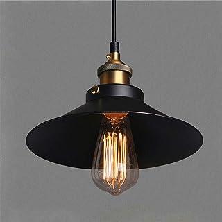 Mengjay Métal Retro Suspension Luminaire Industrielle Vintage Plafonnier Lustre Edison Culot E27 Eclairage de Plafond Susp...