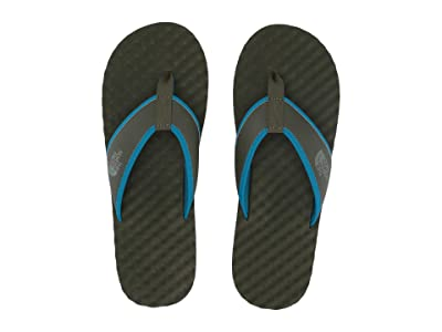 The North Face Base Camp Flip-Flop (New Taupe Green/Crystal Teal) Men