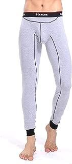 Men's Thermal Pants,Model Base Layer Soft Than Cotton Sexy Underwear Long Johns