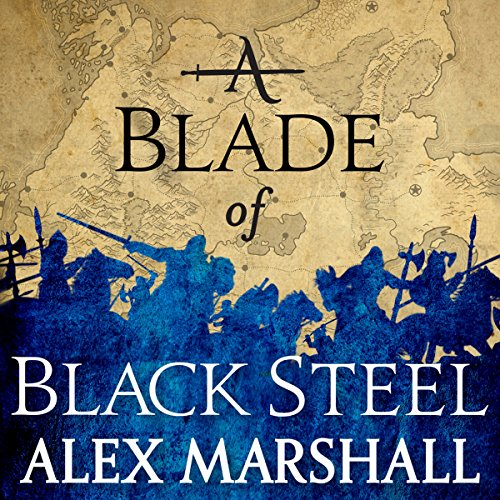 A Blade of Black Steel audiobook cover art