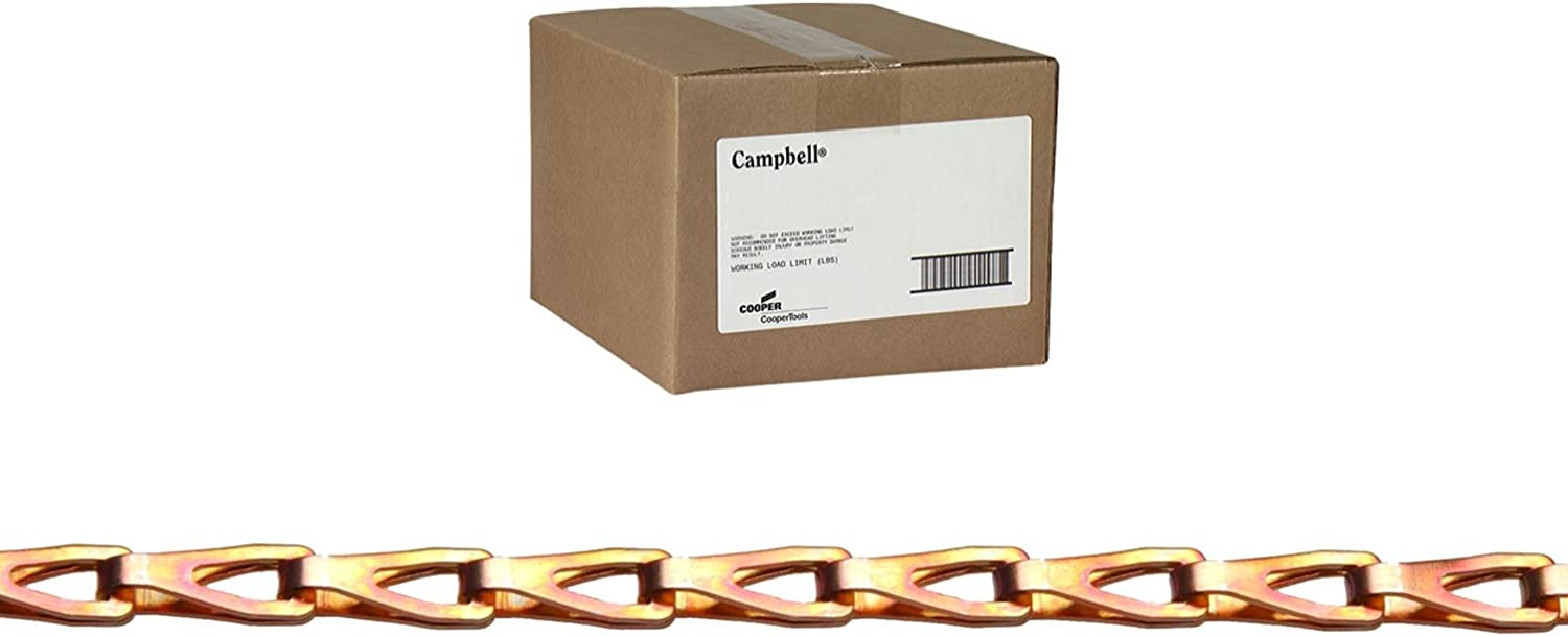 Campbell 0880844 Low Carbon Steel Fixtures with 67% OFF of fixed price Sash Chain Copp Popular popular