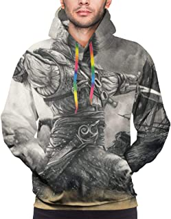 Youthful Assassins Creed Black Flag Edward Kenway Beauty Personality Men Hoodies for Boy Student Adult
