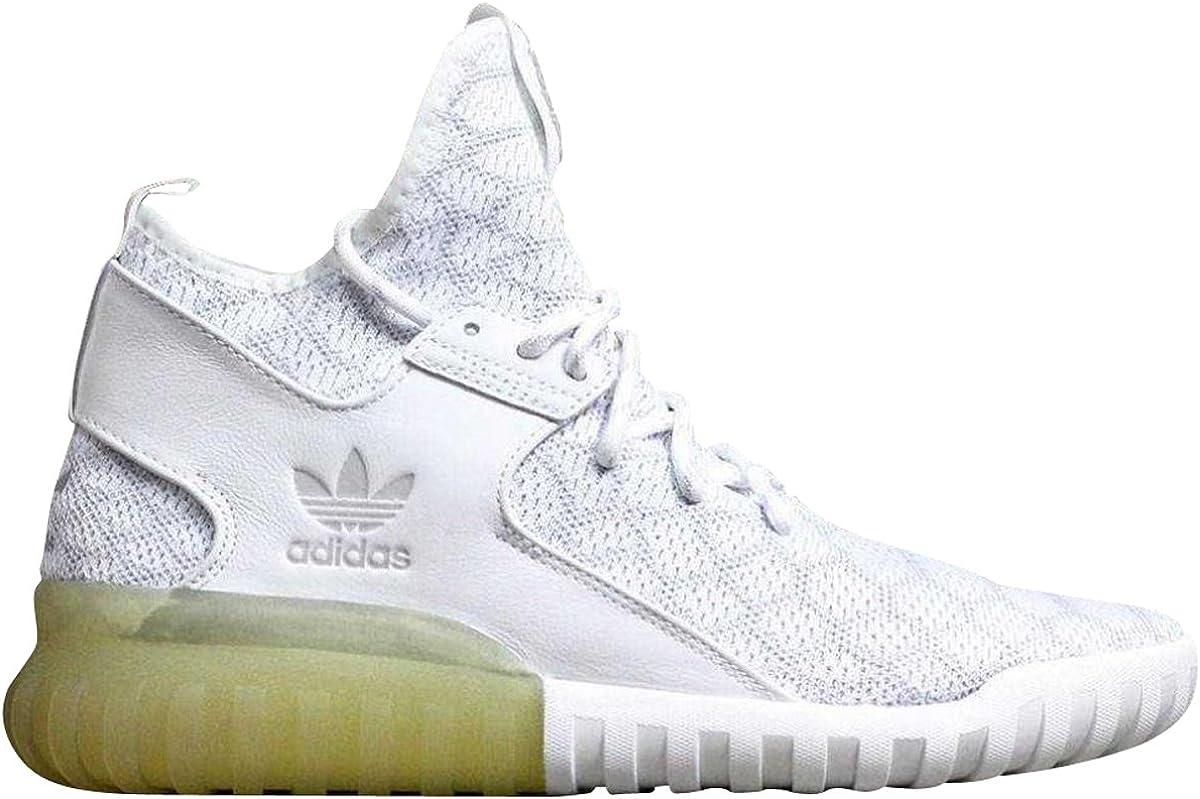 Perder mercado azúcar  Amazon.com | adidas Men Tubular X Primeknit NYC Fashion Week Exclusive ( White/Gray) | Fashion Sneakers