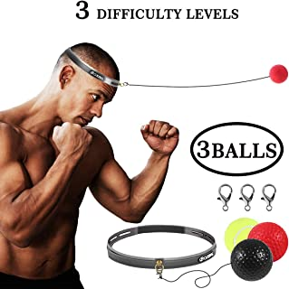 Boxing Fight Ball Reflex for Improving Speed Reactions and Hand Eye Coordination£¬Boxing Punch Equipment for Boxing, MMA and Other Combat Sports Training and Fitness