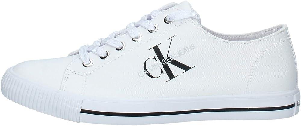 Calvin klein, scarpe uomo sneakers,in tela B4S0670