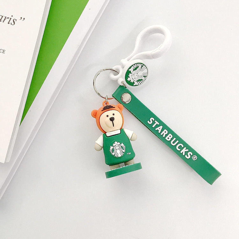 Sales for sale SZLGPJ Max 79% OFF Bear Zodiac Character Doll Car Couple Keychain Bag Pendan