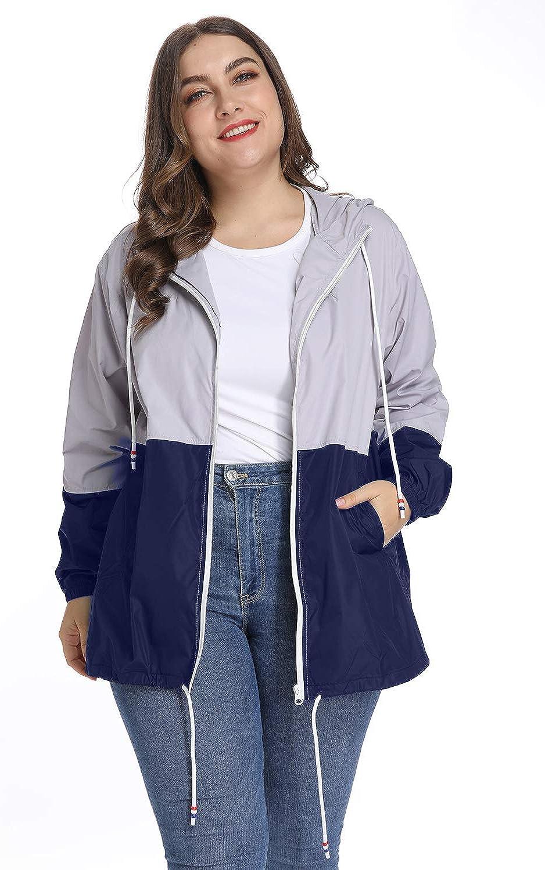 Women's Waterproof NEW before selling ☆ Raincoat Outdoor Finally popular brand Jacket Windbreak Rain Hooded