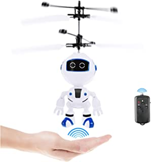 Kim Player RC Helicopter,Remote Control Helicopter,Indoor Flying Toys,Hand Control Helicopter for Kids,Rechargeable Mini H...