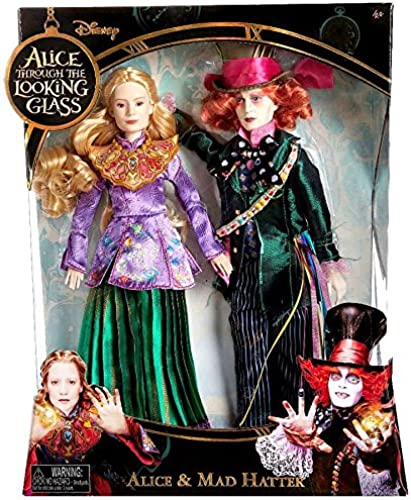 Disney Alice Through the Looking Glass Alice & Mad Hatter Exclusive 11 Doll by Disney