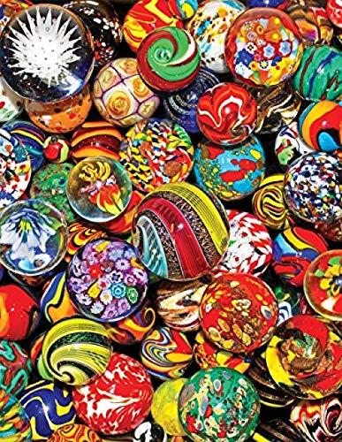 Bola de ensueño-Pintar por Numeros Adultos Niños DIY Pintura por Números con Pinceles y Pinturas Decoraciones Pinturas para el Hogar - 40X50CM