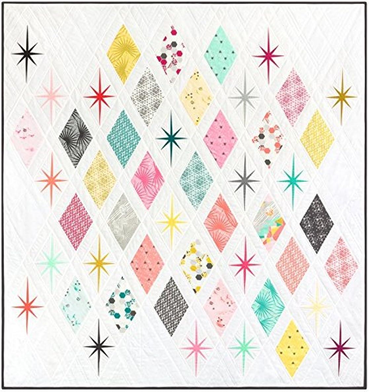 The Atomic Starburst Quilt - Foundation Paper Piecing Pattern - 62