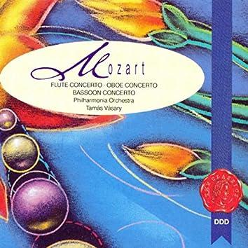 Mozart: Concertos for Flute, Oboe & Bassoon