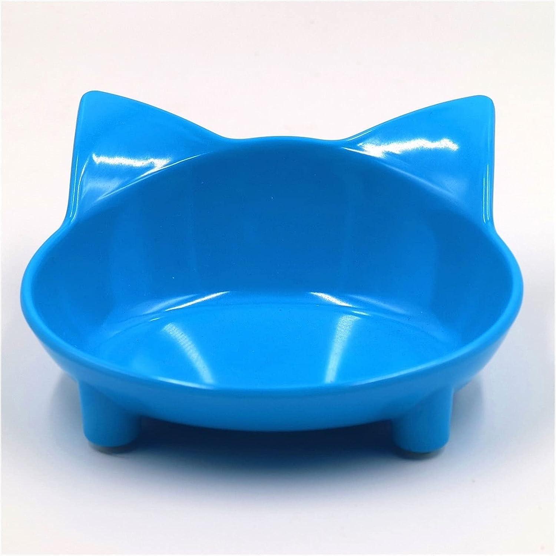 Spring new work yangmeng Pet Bowl Cute Cat Colorful Drinki Cat-Shaped Inexpensive