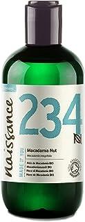 Naissance Nuez de Macadamia BIO - Aceite Vegetal Prensado en Frío 100% Puro - Certificado Ecológico - 250ml