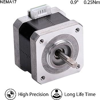 1.8 Deg 2-Phase 4-Wire 20mm Square Stepper Motor Double ball bearing 3D Printer