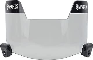 Sports Unlimited Universal Football Visor Eye Shield - Fits All Adult & Youth Helmets