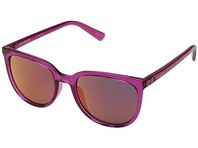 Spy Optic Fizz (Ruby/Gray/Ruby Red Mirror) Sport Sunglasses