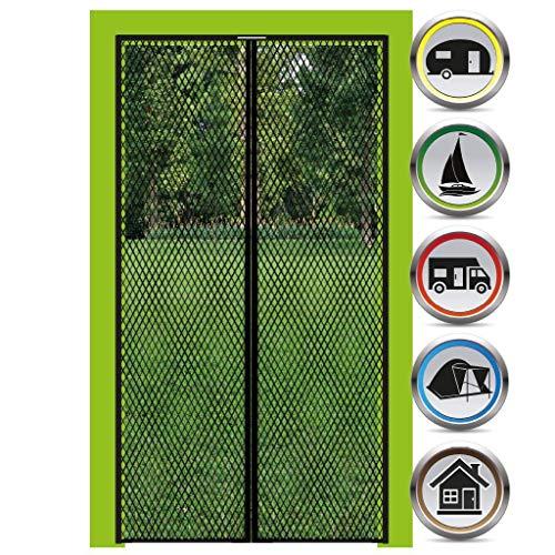 Bestgoodies Insektenschutz - BASIC - mit Magneten für Balkon-Tür 100x210cm, Mosiktoschutz