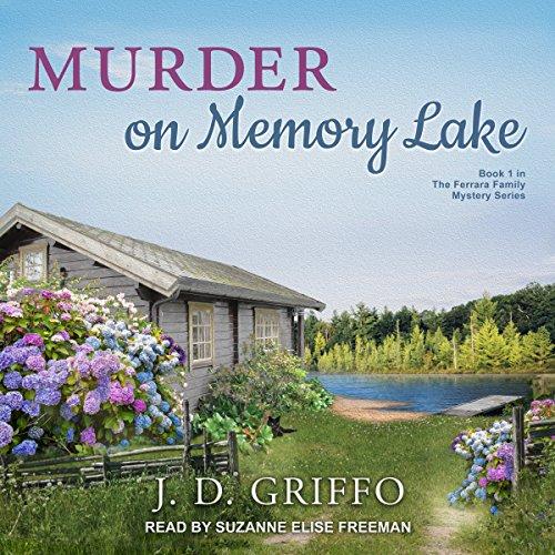 Murder on Memory Lake audiobook cover art