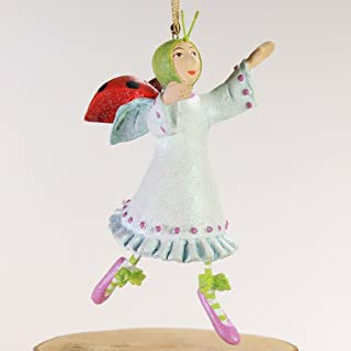 Patience Brewster 12 Days - Day 11 Mini Lady Dancing Christmas Figural Ornament 08-30646