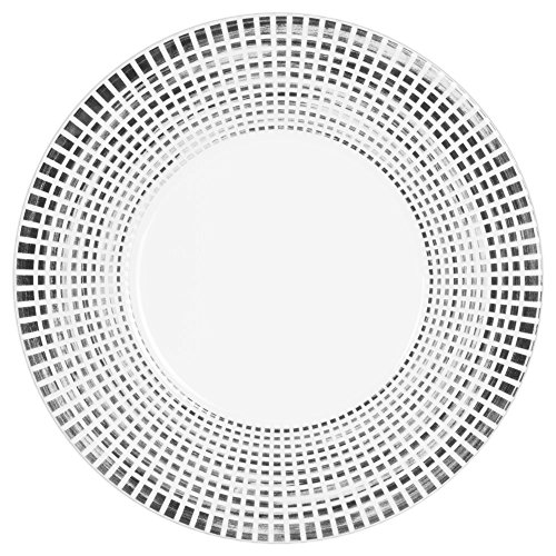 Table Passion - Assiette plate noir astral 27 cm (lot de 6)