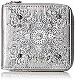 Desigual Majestic Zip Square Mini Wallet Silver
