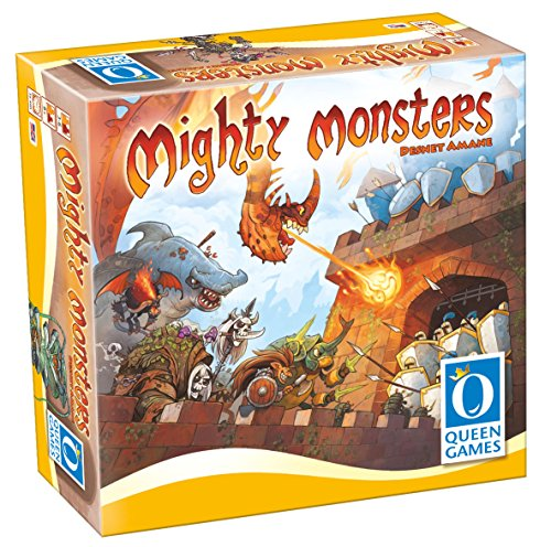 Mighty Monsters Family Board Game