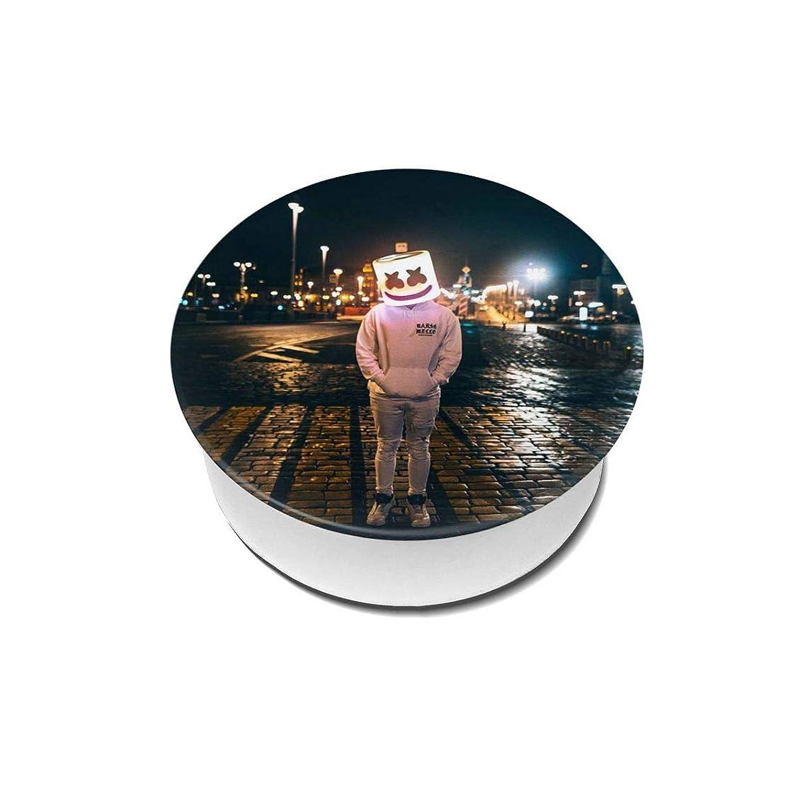 教えレギュラー終わったYinian 4個入リ マシュメロ Marshmello スマホリング/スマホスタンド/スマホグリップ/スマホアクセサリー バンカーリング スマホ リング おしゃれ ホールドリング 薄型 スタンド機能 ホルダー 落下防止 軽い 各種他対応/iPhone/Android(2pcs入リ)