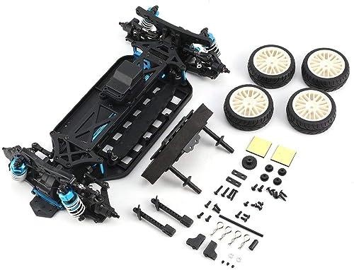 Kongqiabona Fernbedienung Autozubeh LRP S10 Blast TC 2 Clubracer Nicht-RTR mit Radreifen und   - 1 10 4WD Elektro-Tourenwagen-Zubeh Komponente