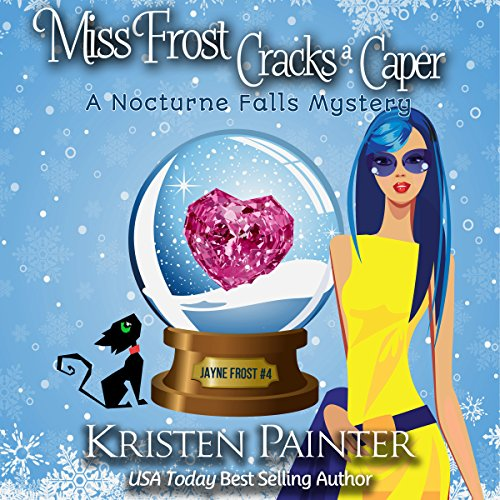 Miss Frost Cracks a Caper audiobook cover art