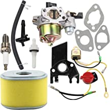 Dalom GX160 Carburetor w 17210-ZE1-505 Air Filter Tune Up Kit for Honda GX140 GX 160 GX168 GX200 5HP 5.5HP 6.5HP Engine