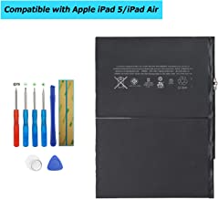 5th Generation iPad Mini Air,iPad 5 Swark Replacement Battery A1484 Compatible with Apple iPad Air A1474 ,6712-6700 iPad Air A1475
