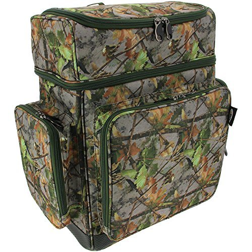 NGT Carp Coarse Fishing XPR Multi Compartment Camo Rucksack Tackle Bag Waterproof