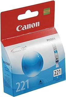 Canon PIXMA MP980 (CLI-221C) Cyan Ink Cartridge Standard Yield