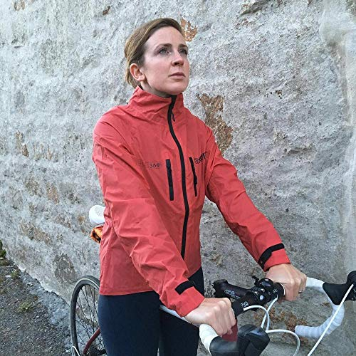 Proviz Womens REFLECT360 CRS (Colour Reflective System) Cycling Jacket - Red - 2