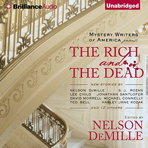 The Rich and the Dead audiobook cover art