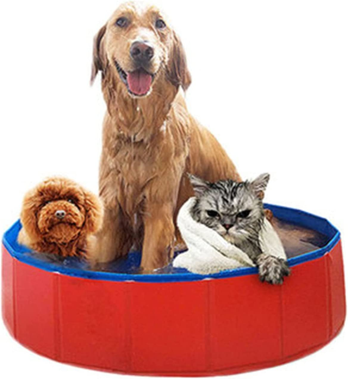 Dog Pool,Pet Pool Cheap mail order shopping Tub,Foldable supreme Bathtub,Suitable Indoor for