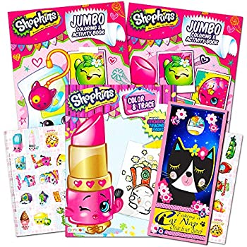 Shopkins Ultimate Coloring and Activity Book | Shopkin.Toys - Image 1
