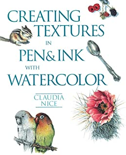 Creating Textures in Pen & Ink with Watercolor