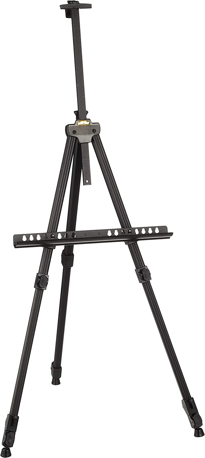 en stock Tar Tar Tar Lenth metal easel three-stage negro 494 455 (japan import)  ventas en linea