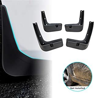 For Hyundai Creta ix25 2015-2017 Car Mud Flaps Splash Guards Mudguard Front and Rear Fender Accessories 4Pcs Set with Screw