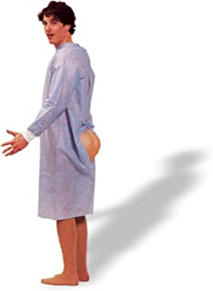 Forum Novelties Mens Funny Hospital Gown Patient Hind Sight Butt Party Costume