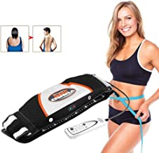 NOLLY Slimming Massage Belt Electric Vibration Sauna Belt Fat Burner Weight Loss Skin Firming Improve Blood Circulation For Women And Men Estimated Price : £ 37,99