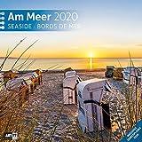 Am Meer 2020, Wandkalender / Broschürenkalender im Hochformat (aufgeklappt 30x60 cm) - Geschenk-Kalender mit Monatskalendarium zum Eintragen