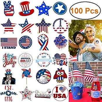 100-Piece Kimiox Waterproof Vinyl Decorations Stickers