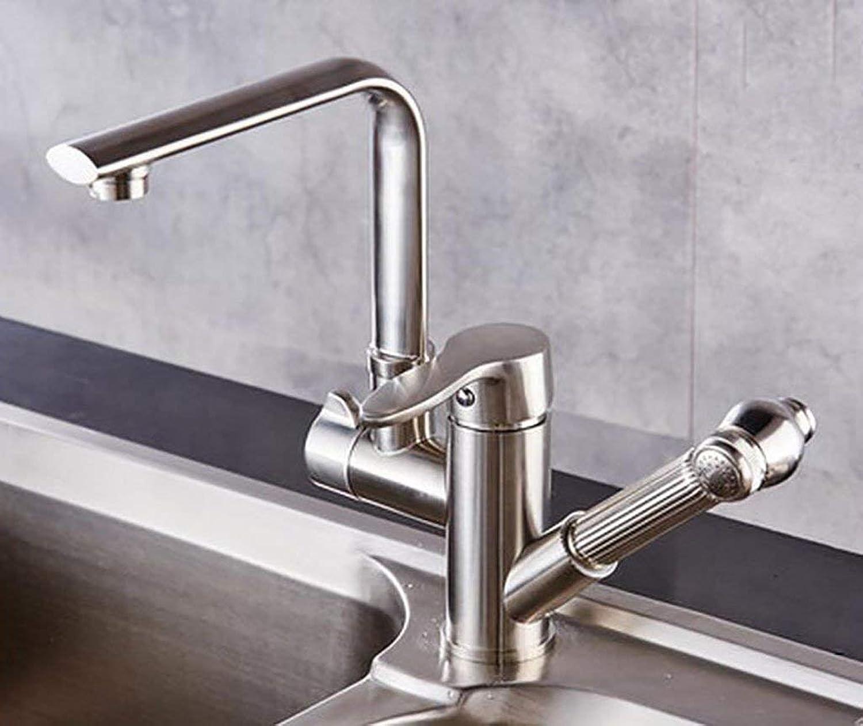 DYR Wasserhahn Küchenarmaturen, heier und kalter drehender Wasserhahn, Waschbecken Wasserhahn (Farbe  6 )