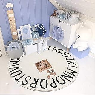 SHACOS Alfombrilla Niños Suelo Alfombra Salón Grande Alfombra de Decoración para Sala de Estar Dormitorio 160 x 160cm